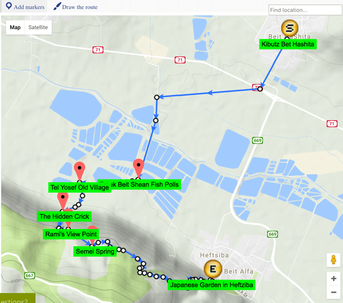 Drawing Lines On Google Maps : Excellent google map routes and trails manager wordpress